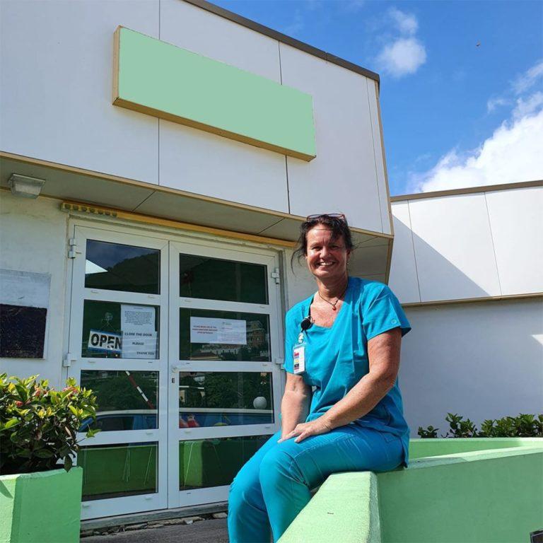 Apothekersassistente Jacqueline der Raad