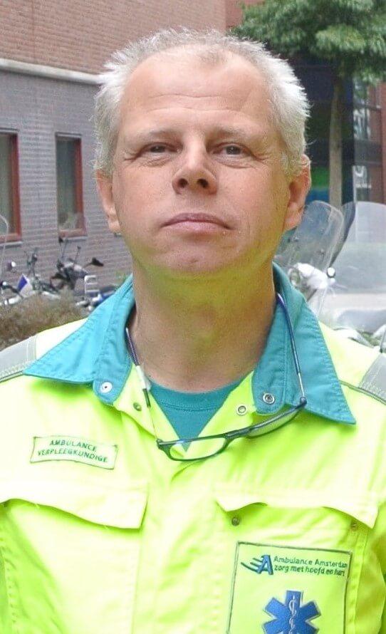 Ambulanceverpleegkundige Thijs Gras